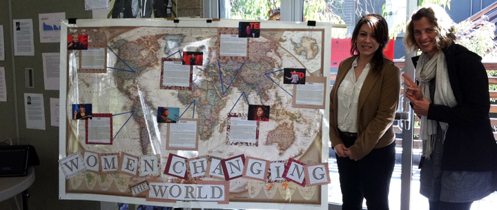 A map on display at 2012's IWD open house